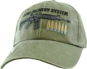 MARINE CORPS ARMY LEAD DELIVERY SYSTEM OD HAT CAP