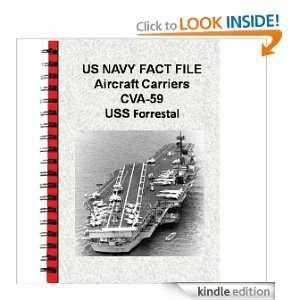 US NAVY FACT FILE Aircraft Carriers CVA 59 USS Forrestal
