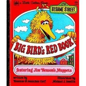 Big Birds Red Book. (9780307010292) Rosanne & Jonathan Cerf