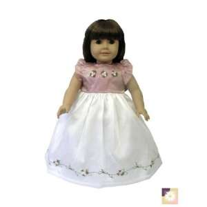 American Girl Doll Clothes Mauve Formal Dress Toys & Games