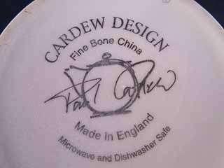 Paul Cardew Sage Coffee Tea Mug Fine Bone China England English Micro