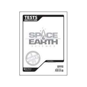 Space & Earth Science Test Answer Key (9781591663126