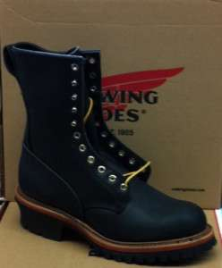 RED WING 218 LOGGER BOOTS MADE IN USA NEW IN BOX