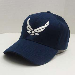 New US Air Force Hat Cap 3D Wing Logo Retired USAF