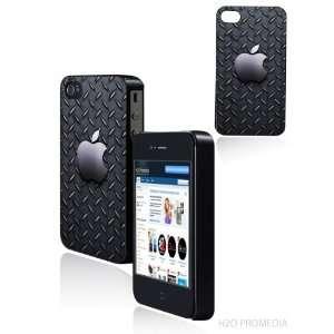 Apple Diamond Plate Steel   Iphone 4 Iphone 4s Hard Shell