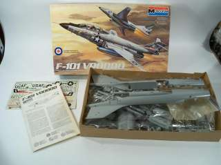 Monogram F 101 Voodoo 1/48 Scale Model Airplane Kit 5811