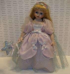 Wimbledon Collection Doll Porcelain Face Hands Feet