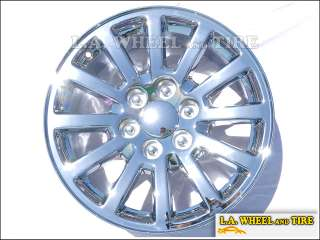 Chevrolet Tahoe / GMC Yukon 18 OEM Chrome Wheels Set