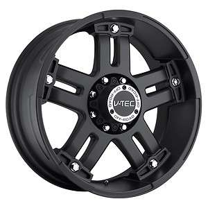 tec Warlord Black wheels rims 5x5 5x127 +25 / Jeep Commander