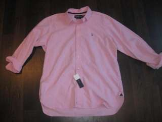 Mens Polo Ralph Lauren Classic Fit Oxford SM XXL NWT