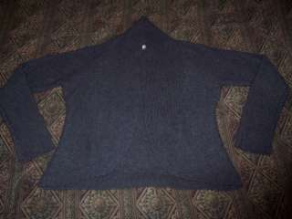 Victorias Secret 100% Cashmere Grey Sweater Med/Large