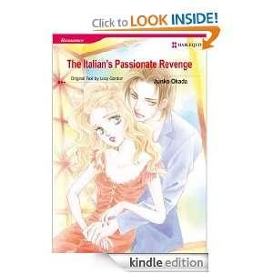 Harlequin comics The Italians Passionate Revenge JUNKO OKADA, LUCY