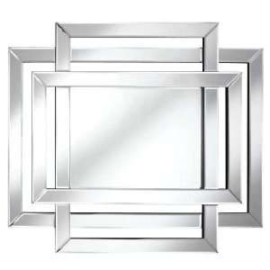 Wall Mirror Modern Style with Frameless Design Beauty