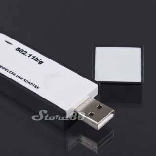 New 54M USB WiFi Wireless Mini LAN Card 802.11 B/G Networking Adapter