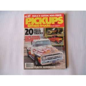 HOT ROD PICKUPS VOLUME 1, NUMBER 2 (BUILD A CUSTOM MINI TRUCK   20