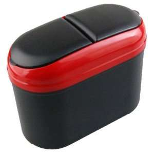 Eric Car Trash Garbage Rubbish Bin Can Box Holder Hook Red