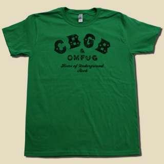 CBGB classic PUNK ROCK shirt OMFUG concert t shirt
