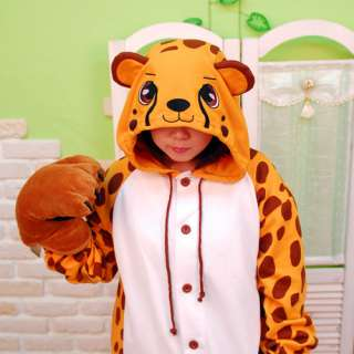 SWEET HOLIC Animal Pajamas Costumes Fancy dress Cheetah