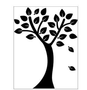 Beautiful Tree Wall Stickers Vinyl Decals Home Decor