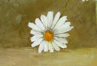 Virbickiene art original oil painting MARGUERITES