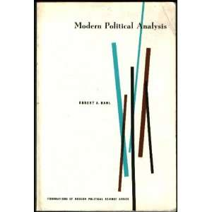 Modern Political Analysis: Robert A. Dahl:  Books