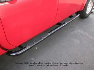 Step Bars Running Board Nerf Black Dodge RAM 1500 2500 3500 Reg Cab