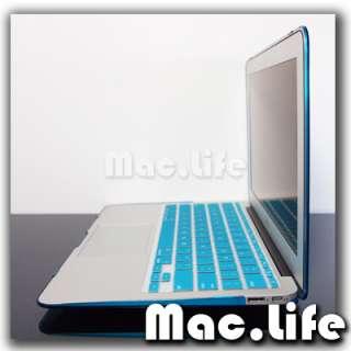 AQUA BLUE Crystal Hard Case Cover for Macbook Air 11