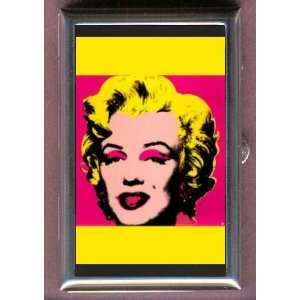 ANDY WARHOL MARILYN MONROE PINK Coin, Mint or Pill Box