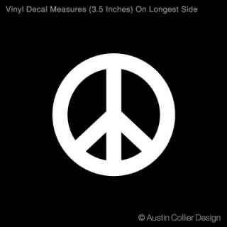 PEACE SYMBOL Vinyl Decal Car Sticker   Peace Sign