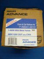 ADVANCE 400 Watt Metal Halide Ballast 480 Volt R$60