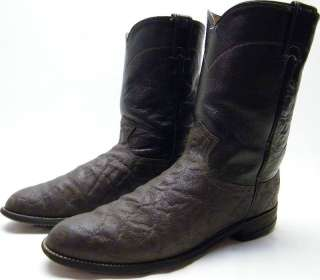 ELEPHANT ROPER COWBOY WESTERN BOOTS SZ 10D 10 D MADE IN USA