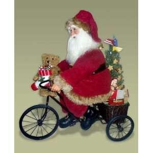Karen Didion Originals 20 Heirloom Tricycle Santa #CCT20