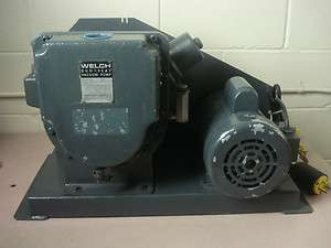 Welch Duo Seal Vacuum Pump 1397