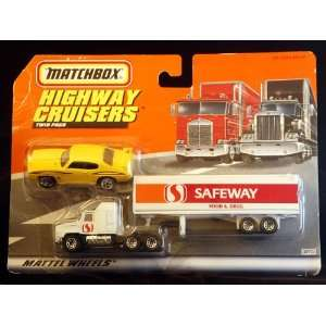 Cruisers Twin Pack   The Judge & Safeway Tractor/Trailer Toys & Games