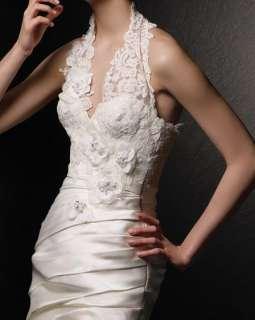 item name bria halter neck bridal wedding party dress free gift