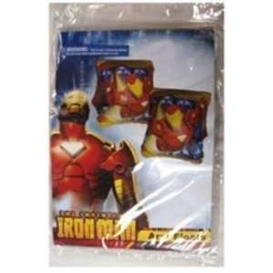 Iron Man Inflatable Arm Bands In Poly Bag Case Pack 24