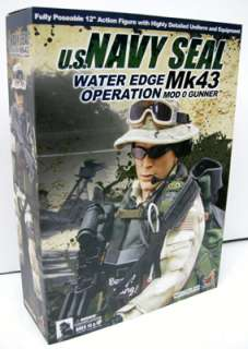 HOT TOYS US NAVY SEAL MK43 MOD 0 GUNNER FIGURE