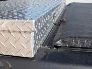 78IN Chevy GMC Access Tool Box Tonneau Roll Bed Cover