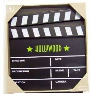 Clapboard Wall Art Hollywood Theater Seating Decor
