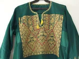 Vintage Bedouin palestinian traditional Dress Handmade Antique