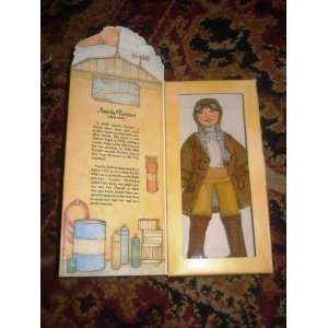 Doll   Amelia Earhart   Famous Americans Series 1 Toys & Games