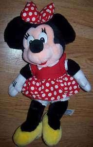 Disneyland Walt Disney World Park MINNIE MOUSE Plush