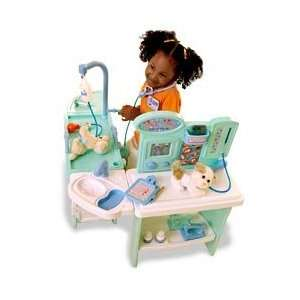Pet Vet Center Playset Toys & Games