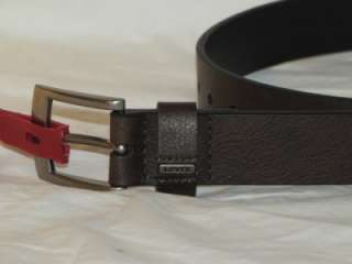 New Boys LEVIS Brown Leather Belt Sz S(22 24), M (26 28), L (30 32