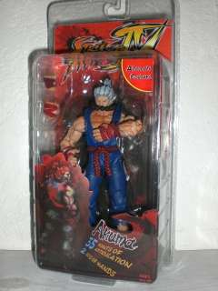 STREET FIGHTER IV Action Figure AKUMA Alternate by NECA