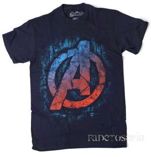LOGO ASSEMBLE T SHIRT IRON MAN CAPTAIN AMERICA THE HULK THOR NEW NWT