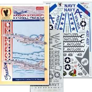 Freedom Hornets, Part 1 VFA 204, VFA 105 (1/32 decals): Toys & Games
