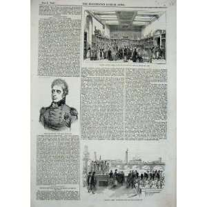 1843 Cathcart Prince Albert KingS College Telegraph Home