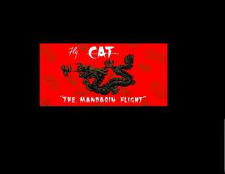 CIVIL AIR TRANSPORT CAT CIA 2 BAGGAGE STICKER S VIETNAM