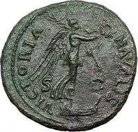 VESPASIAN 71AD Judaea Capta issue Ancient Rare Roman Coin Victory on